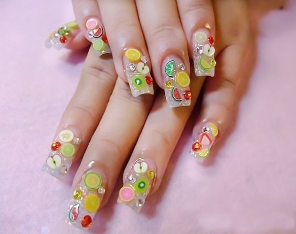 3D-Nail-Art-Designs-37 70 Hottest & Most Amazing 3D Nail Art Designs