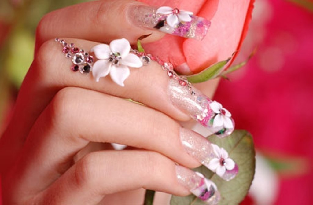 3D-Nail-Art-Designs-39 70 Hottest & Most Amazing 3D Nail Art Designs