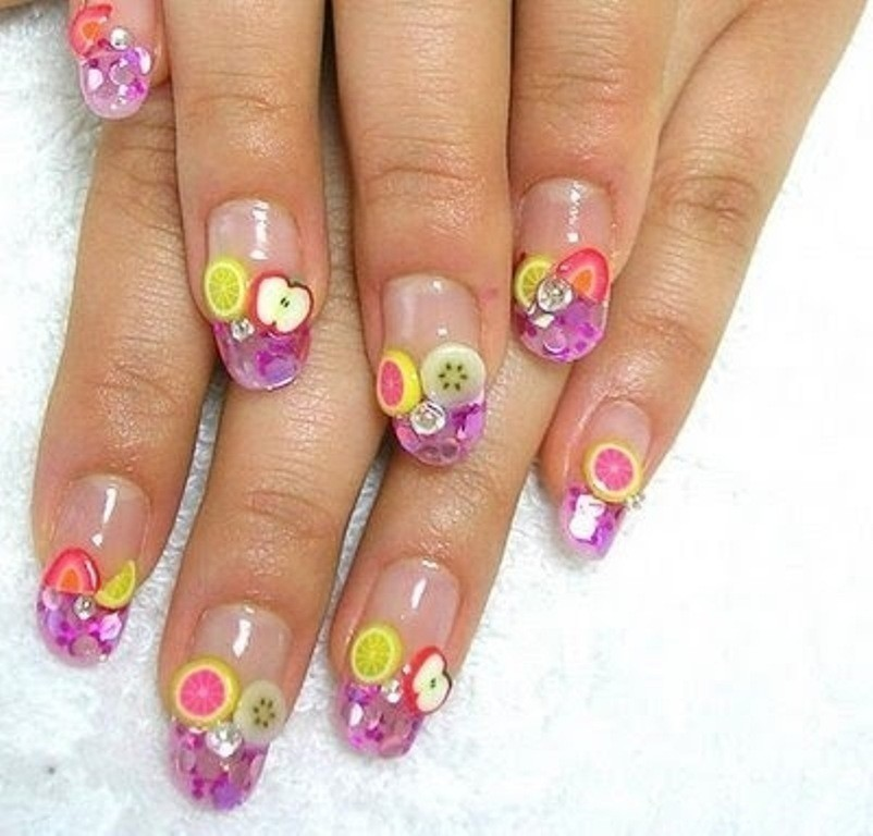 3D-Nail-Art-Designs-40 70 Hottest & Most Amazing 3D Nail Art Designs