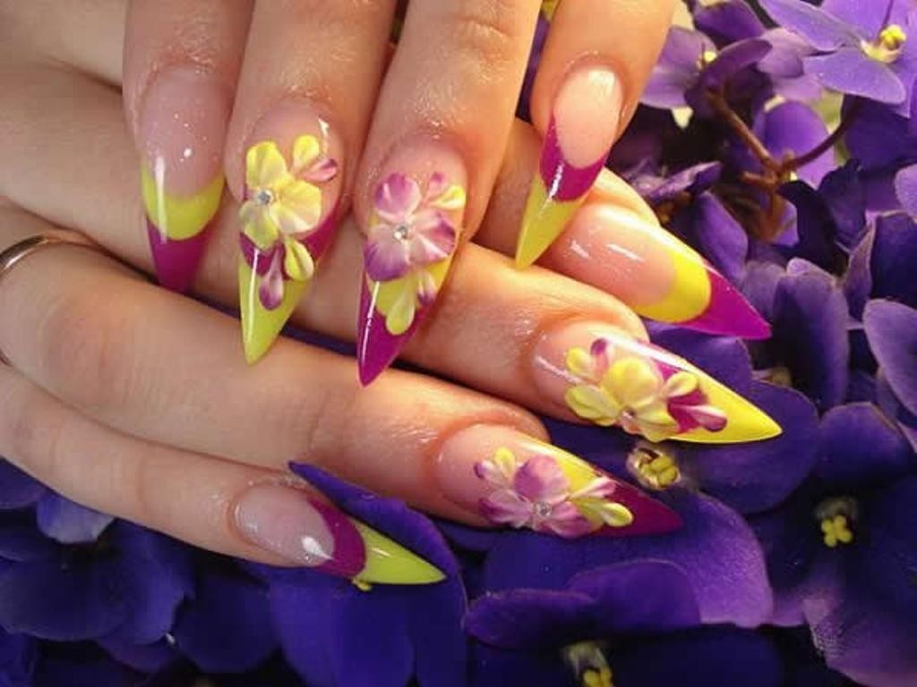 3D-Nail-Art-Designs-43 70 Hottest & Most Amazing 3D Nail Art Designs