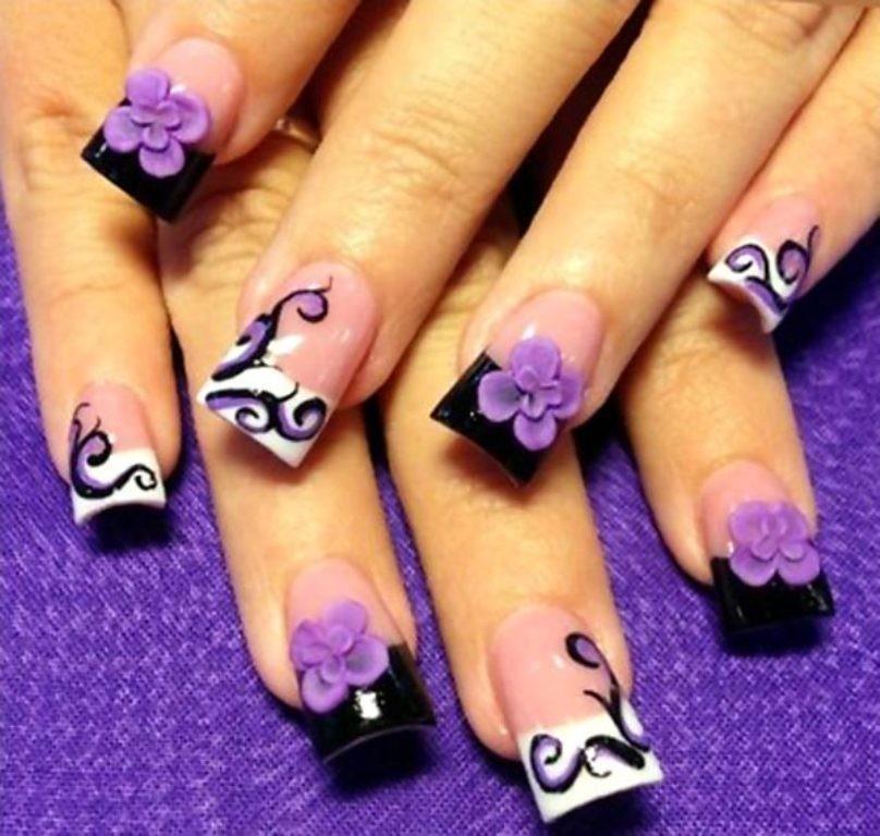 3D-Nail-Art-Designs-46 70 Hottest & Most Amazing 3D Nail Art Designs