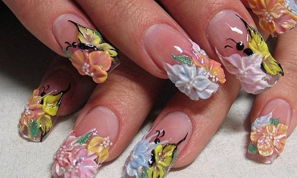3D-Nail-Art-Designs-47 70 Hottest & Most Amazing 3D Nail Art Designs