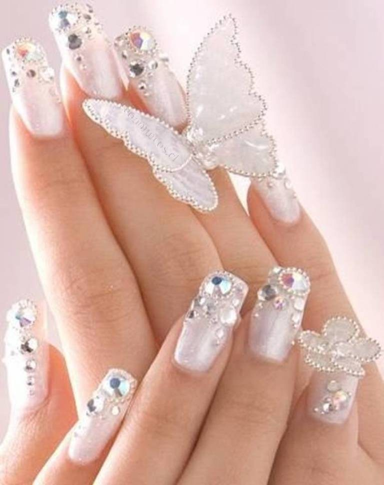 3D-Nail-Art-Designs-49 70 Hottest & Most Amazing 3D Nail Art Designs