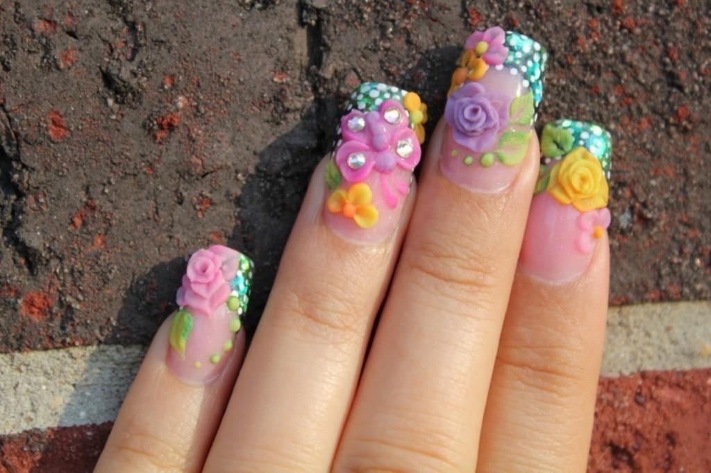 3D-Nail-Art-Designs-5 70 Hottest & Most Amazing 3D Nail Art Designs