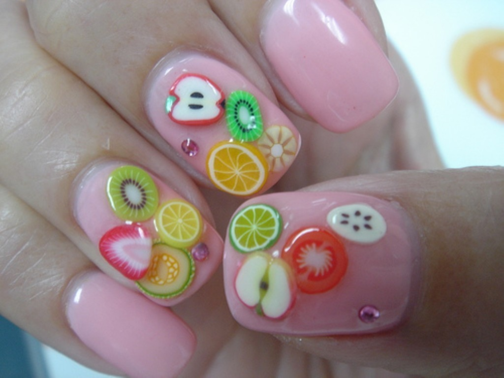 3D-Nail-Art-Designs-51 70 Hottest & Most Amazing 3D Nail Art Designs