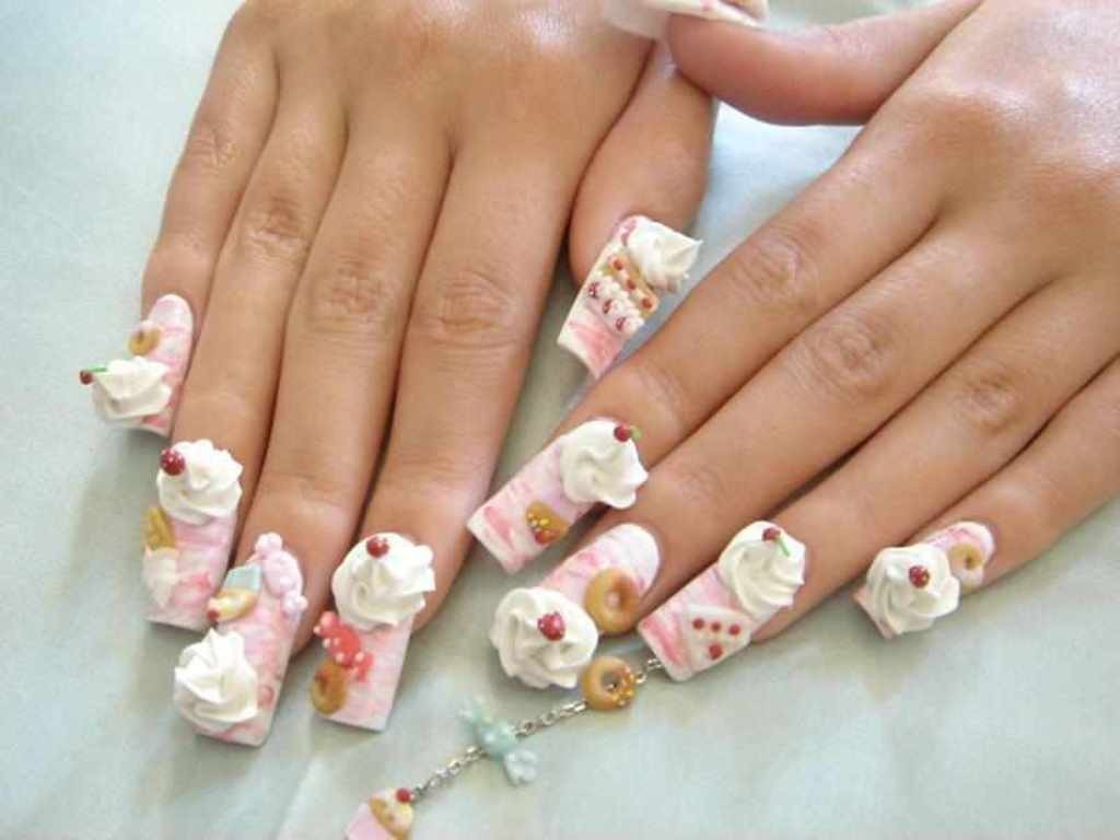 3D-Nail-Art-Designs-52 70 Hottest & Most Amazing 3D Nail Art Designs