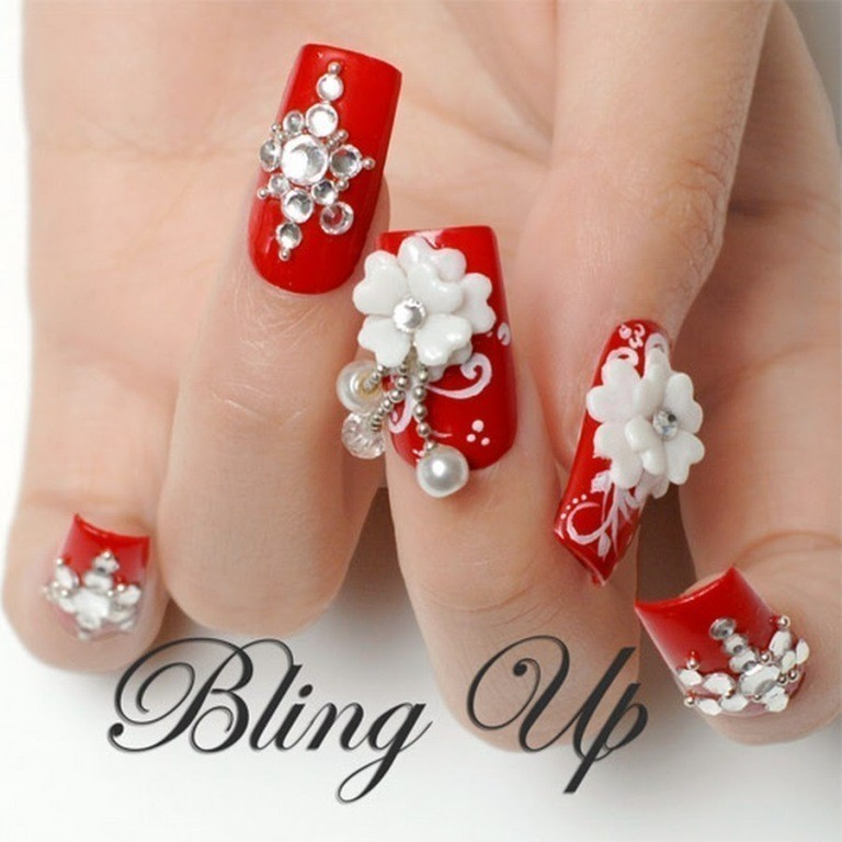 3D-Nail-Art-Designs-54 70 Hottest & Most Amazing 3D Nail Art Designs