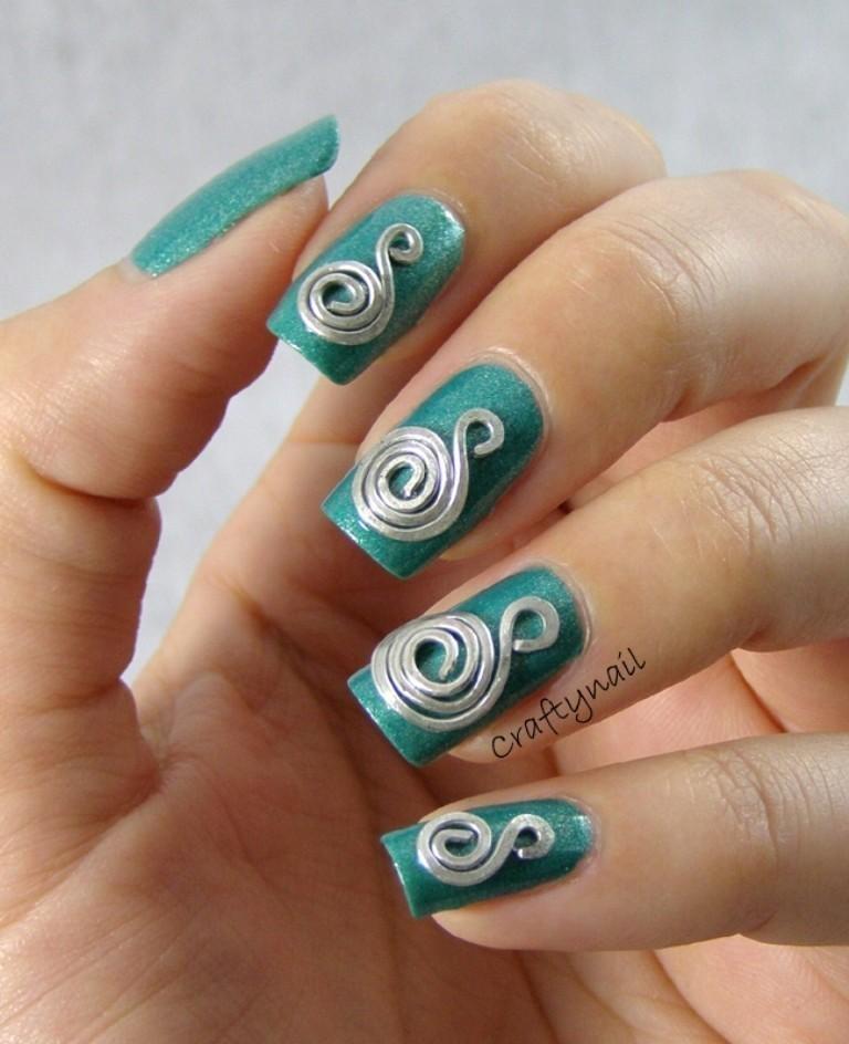 3D-Nail-Art-Designs-6 70 Hottest & Most Amazing 3D Nail Art Designs