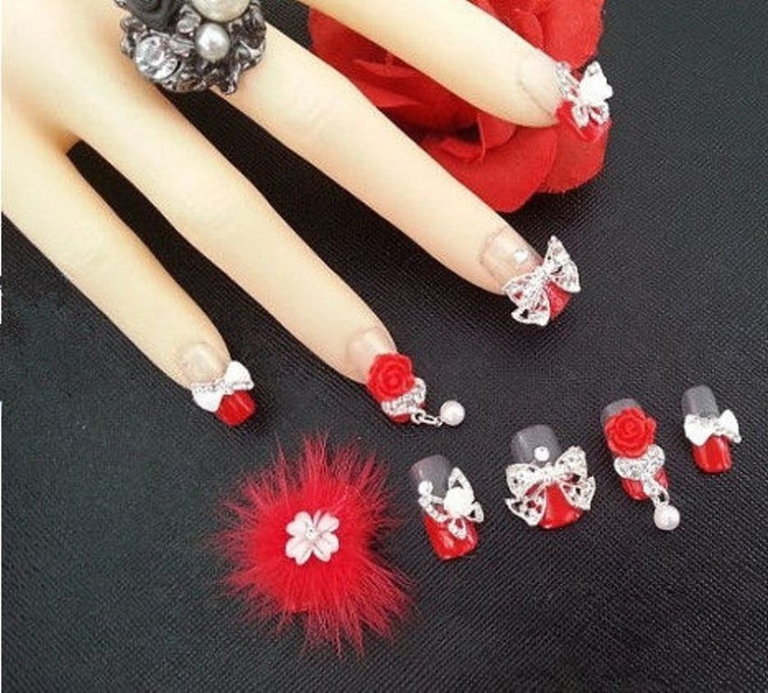 3D-Nail-Art-Designs-61 70 Hottest & Most Amazing 3D Nail Art Designs