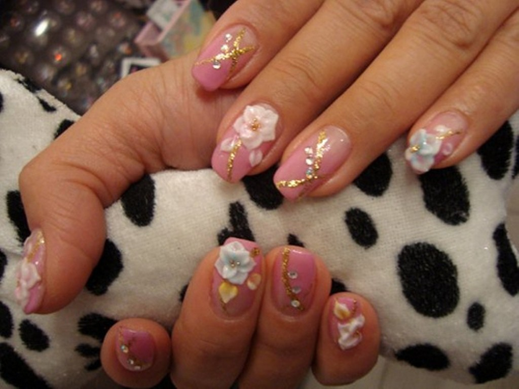 3D-Nail-Art-Designs-7 70 Hottest & Most Amazing 3D Nail Art Designs