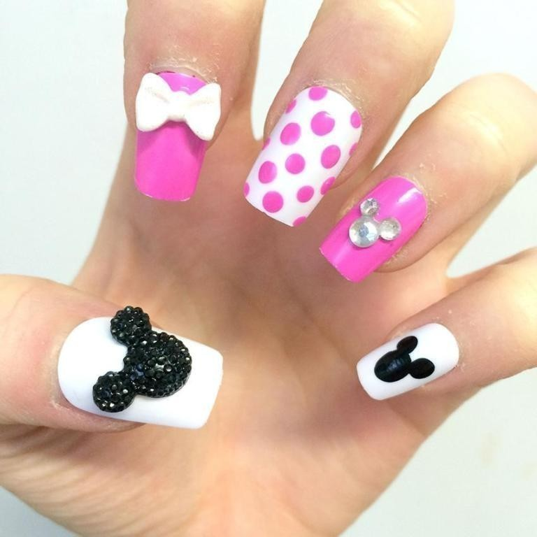 3D-Nail-Art-Designs-9 70 Hottest & Most Amazing 3D Nail Art Designs