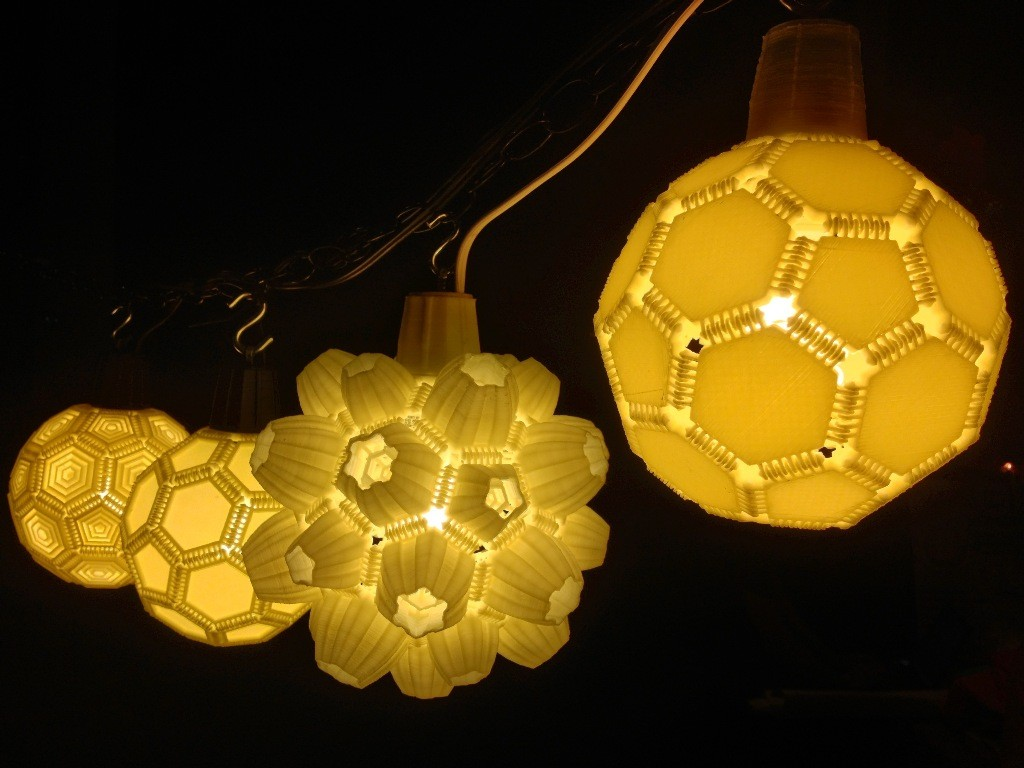 3D-Printed-Lamps-23 51 Most Awesome 3D Printed Lamps