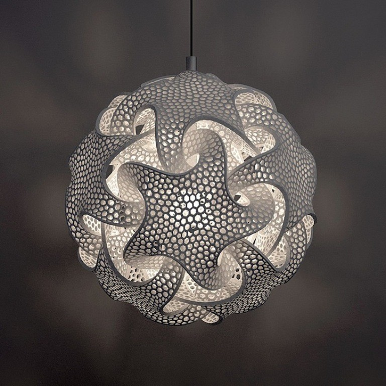 3D-Printed-Lamps-33 51 Most Awesome 3D Printed Lamps