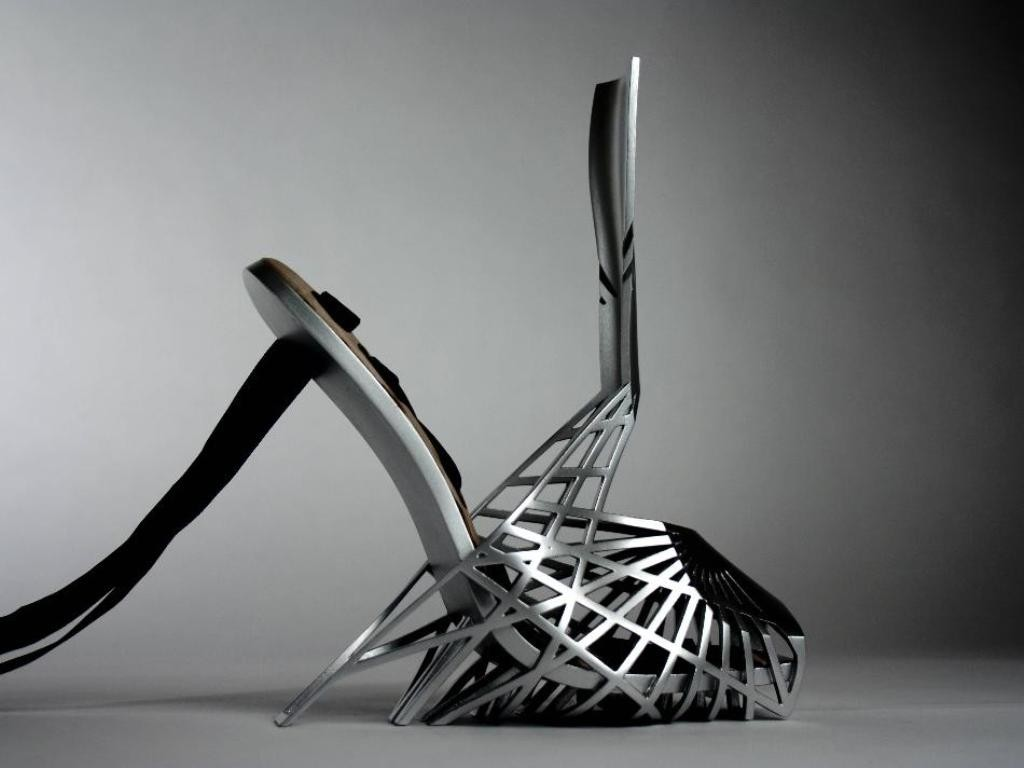 3D-Printed-Shoes-1 64 Strangest & Catchiest 3D Printed Shoes