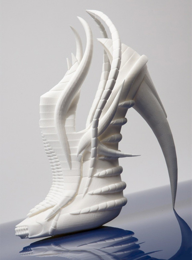 3D-Printed-Shoes-10 64 Strangest & Catchiest 3D Printed Shoes