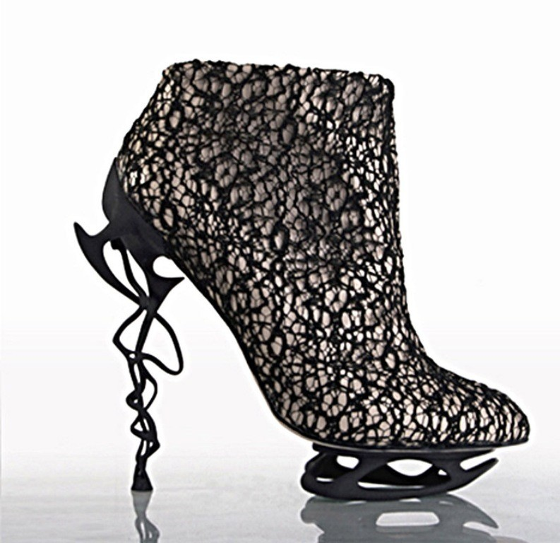 3D-Printed-Shoes-11 64 Strangest & Catchiest 3D Printed Shoes