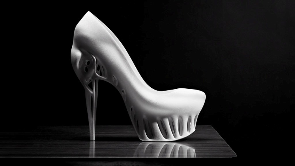 3D-Printed-Shoes-17 64 Strangest & Catchiest 3D Printed Shoes