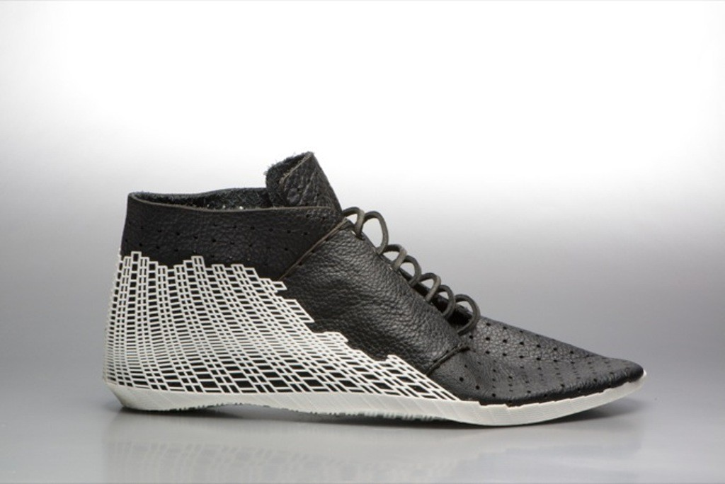 3D-Printed-Shoes-19 64 Strangest & Catchiest 3D Printed Shoes