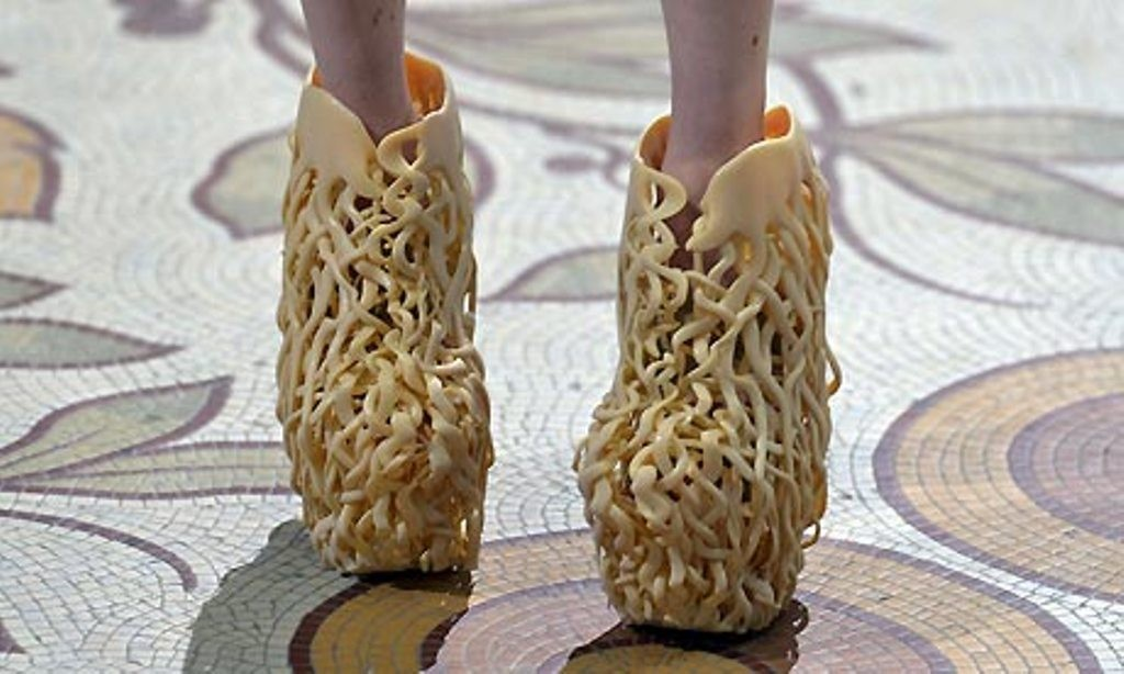 3D-Printed-Shoes-2 64 Strangest & Catchiest 3D Printed Shoes