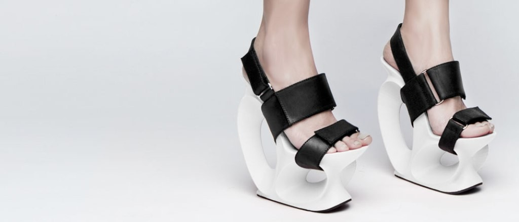 3D-Printed-Shoes-21 64 Strangest & Catchiest 3D Printed Shoes