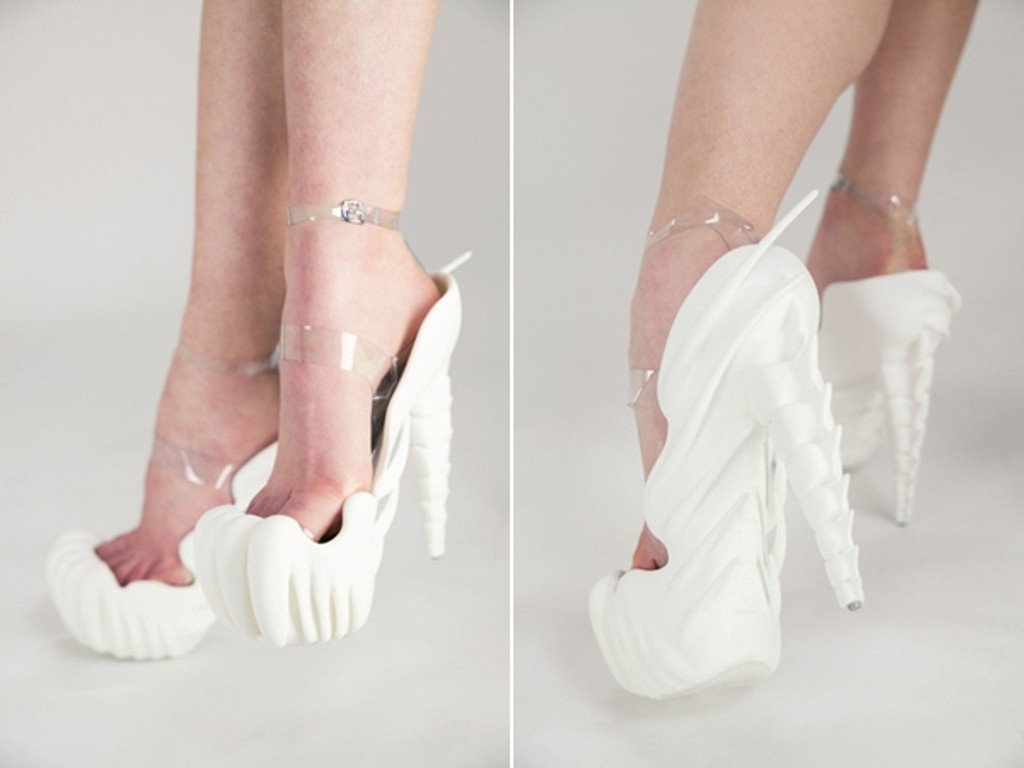 3D-Printed-Shoes-22 64 Strangest & Catchiest 3D Printed Shoes