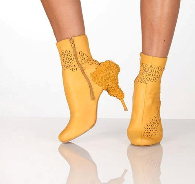 3D-Printed-Shoes-25 64 Strangest & Catchiest 3D Printed Shoes