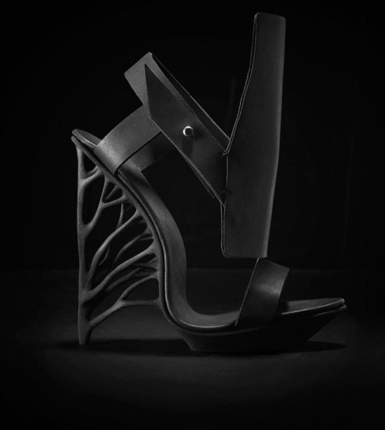 3D-Printed-Shoes-27 64 Strangest & Catchiest 3D Printed Shoes