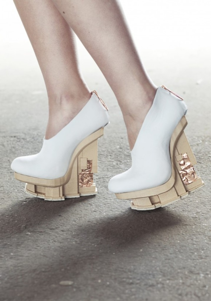 3D-Printed-Shoes-28 64 Strangest & Catchiest 3D Printed Shoes