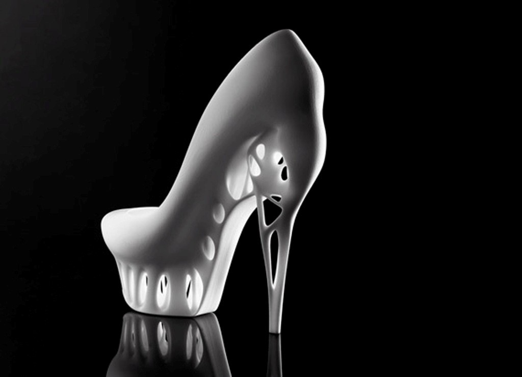 3D-Printed-Shoes-30 64 Strangest & Catchiest 3D Printed Shoes