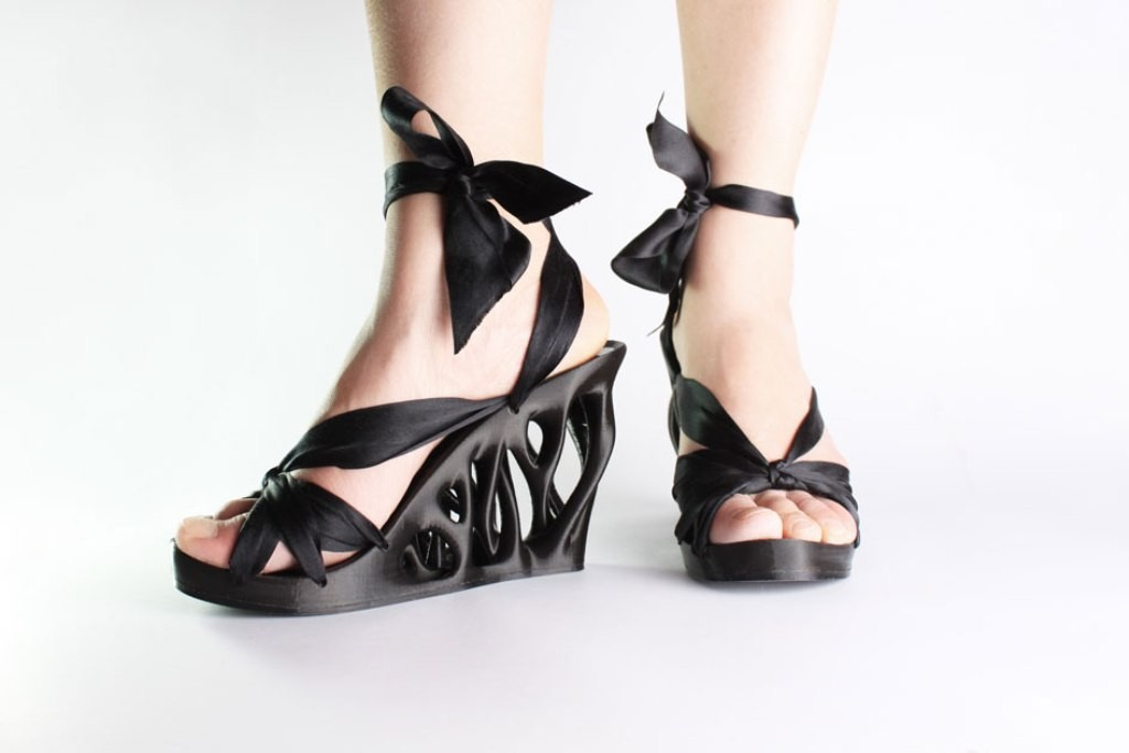 3D-Printed-Shoes-32 64 Strangest & Catchiest 3D Printed Shoes