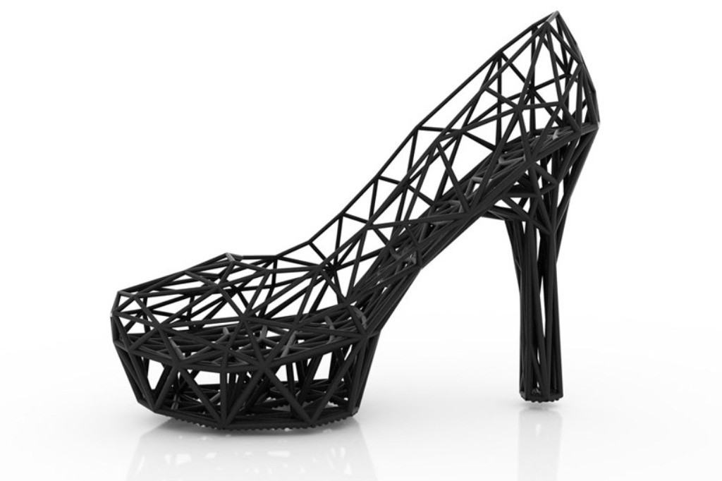 3D-Printed-Shoes-33 64 Strangest & Catchiest 3D Printed Shoes