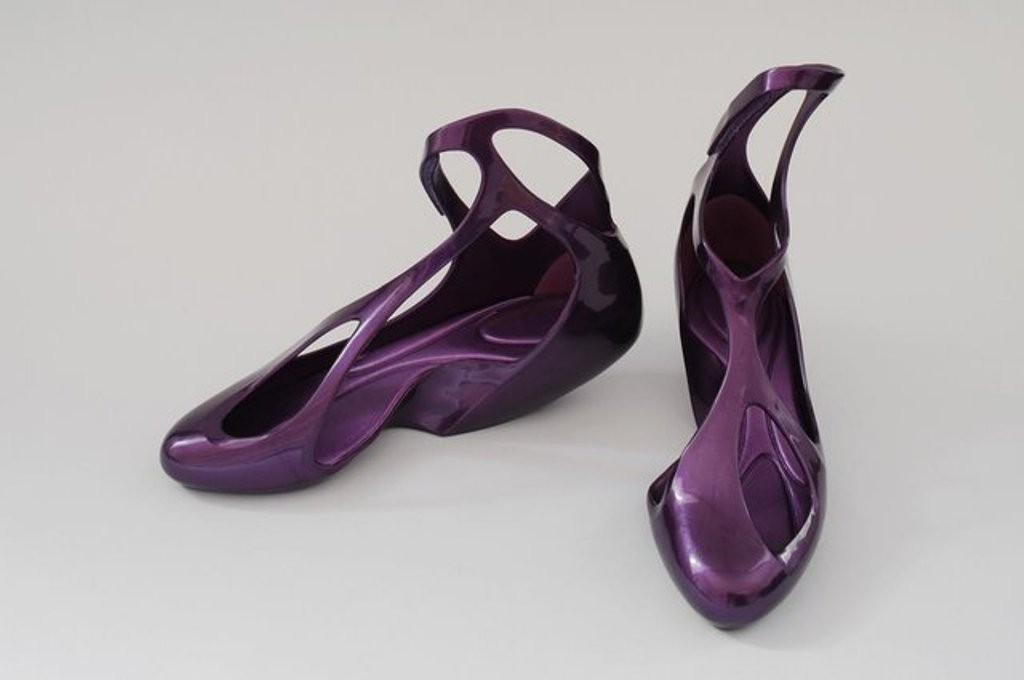 3D-Printed-Shoes-34 64 Strangest & Catchiest 3D Printed Shoes
