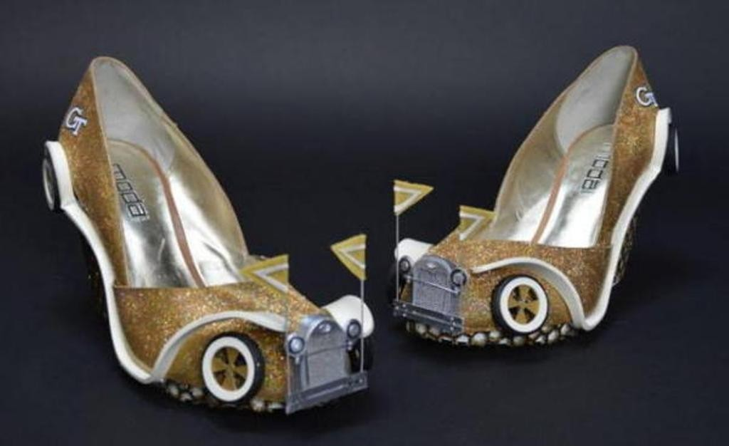 3D-Printed-Shoes-38 64 Strangest & Catchiest 3D Printed Shoes