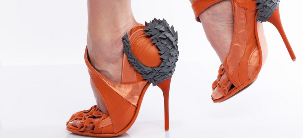 3D-Printed-Shoes-4 64 Strangest & Catchiest 3D Printed Shoes
