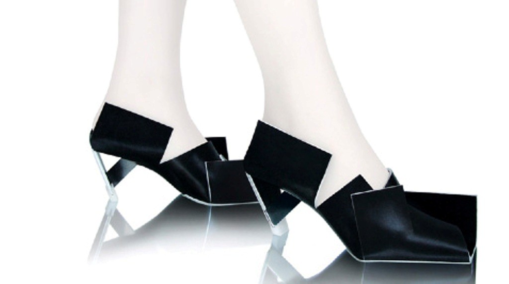 3D-Printed-Shoes-40 64 Strangest & Catchiest 3D Printed Shoes