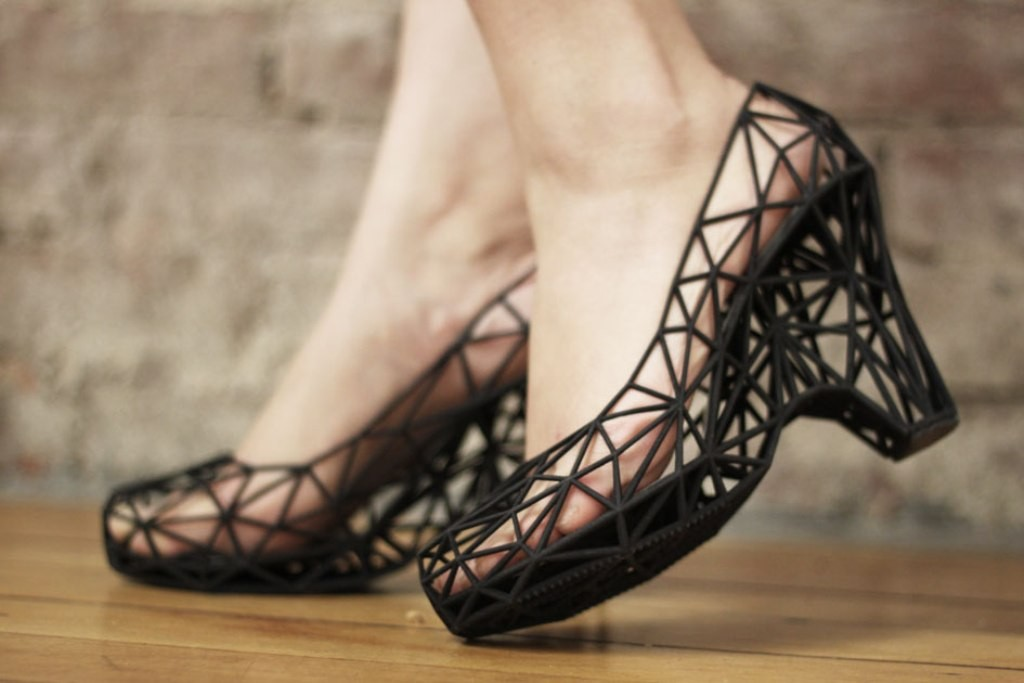 3D-Printed-Shoes-41 64 Strangest & Catchiest 3D Printed Shoes