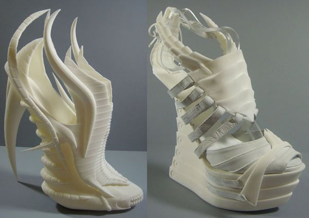 3D-Printed-Shoes-42 64 Strangest & Catchiest 3D Printed Shoes