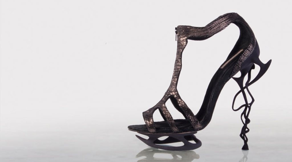 3D-Printed-Shoes-47 64 Strangest & Catchiest 3D Printed Shoes