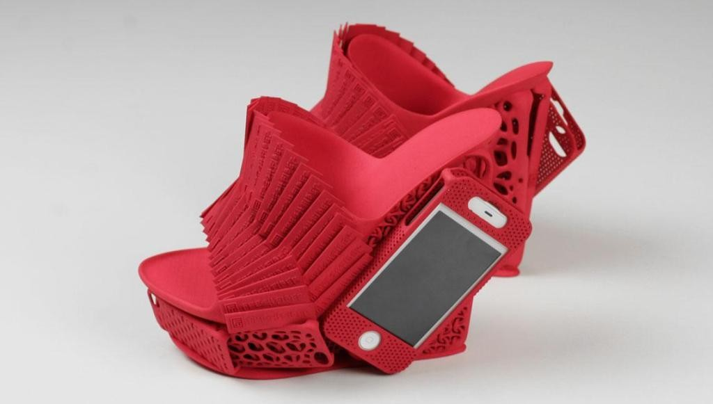 3D-Printed-Shoes-48 64 Strangest & Catchiest 3D Printed Shoes