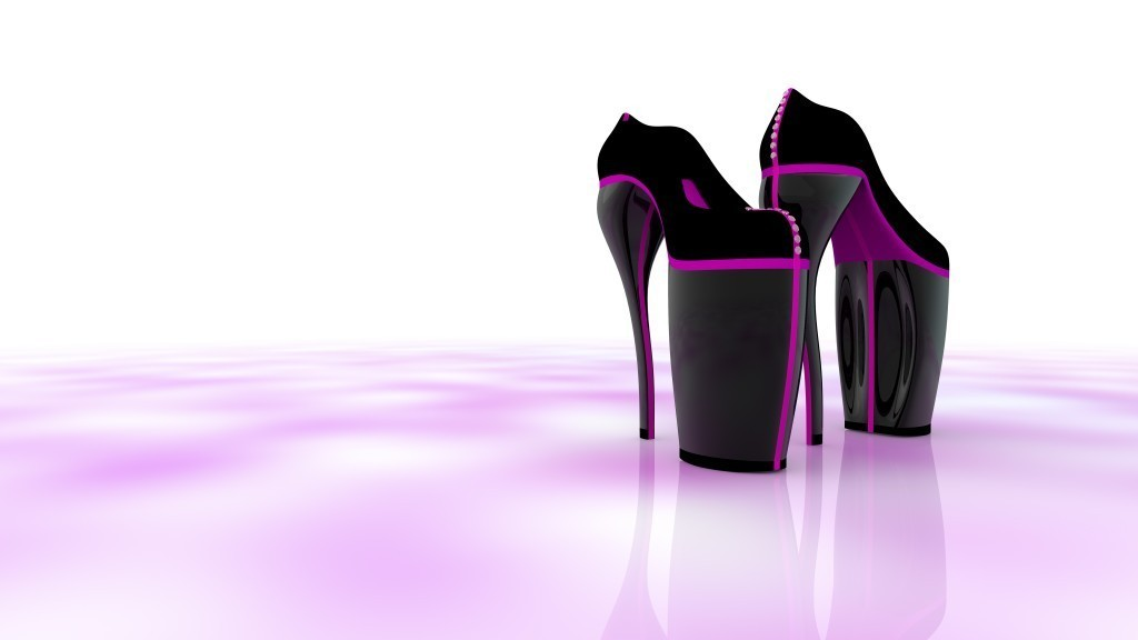 3D-Printed-Shoes-49 64 Strangest & Catchiest 3D Printed Shoes