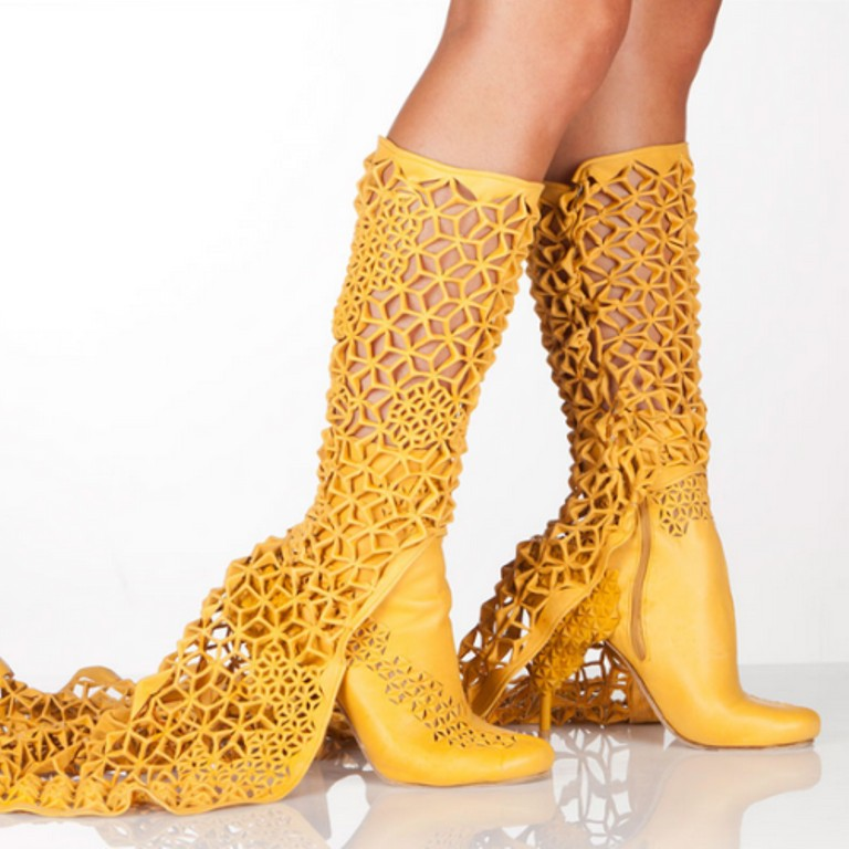 3D-Printed-Shoes-5 64 Strangest & Catchiest 3D Printed Shoes