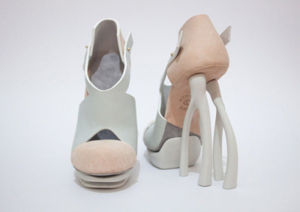 3D-Printed-Shoes-52 64 Strangest & Catchiest 3D Printed Shoes