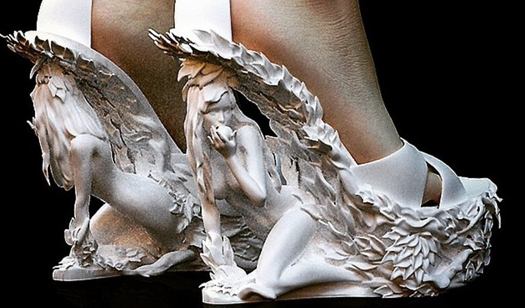 3D-Printed-Shoes-53 64 Strangest & Catchiest 3D Printed Shoes