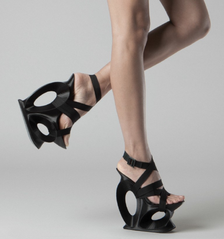 3D-Printed-Shoes-54 64 Strangest & Catchiest 3D Printed Shoes