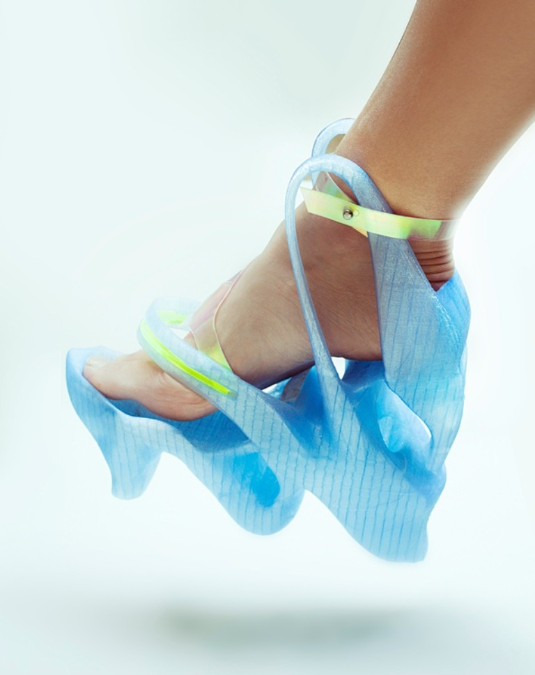 3D-Printed-Shoes-56 64 Strangest & Catchiest 3D Printed Shoes