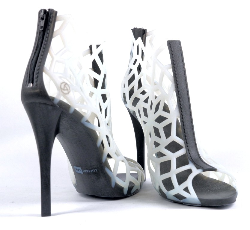 3D-Printed-Shoes-7 64 Strangest & Catchiest 3D Printed Shoes