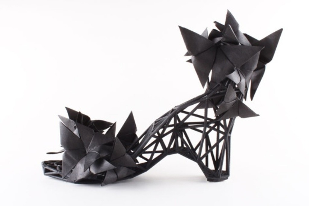 3D-Printed-Shoes-8 64 Strangest & Catchiest 3D Printed Shoes