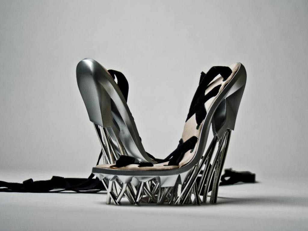 3D-Printed-Shoes 64 Strangest & Catchiest 3D Printed Shoes