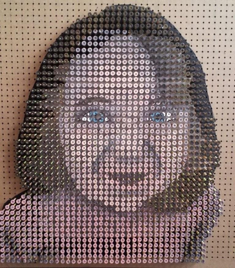 3D-Screw-Portraits-16 24 Most Dazzling 3D Screw Portraits