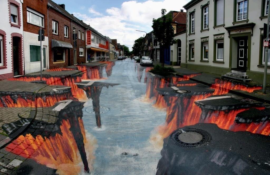 3D-Street-Art-Works-10 42 Most Breathtaking 3D Street Art Works